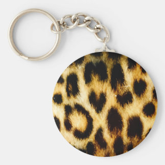 Leopard Fur Keychain