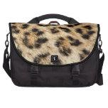 Leopard Fur Laptop Bag