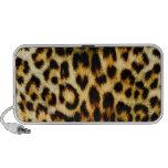 Leopard Fur Notebook Speaker