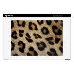 "Leopard Fur Pattern Decals For 13"" Laptops"