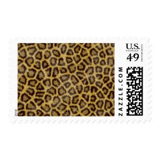Leopard Fur Postage