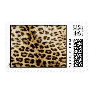 """Leopard """"Fur"""" Postage Stamp stamp"""