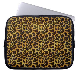 Leopard Fur Print Animal Pattern Laptop Computer Sleeve