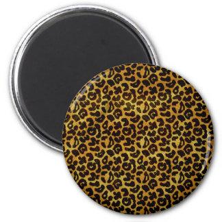 Leopard Fur Print Animal Pattern Magnet