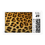 Leopard Fur Print Postage Stamp