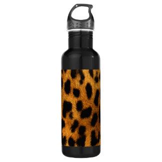 Leopard Fur Print Water Bottle