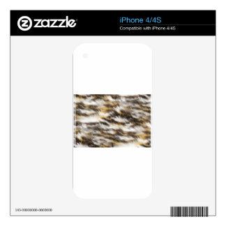 leopard fur skins for the iPhone 4S