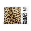 Leopard Fur Trendy Stylish Small Stamp stamp
