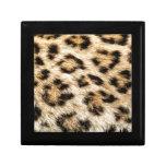 Leopard Fur Trinket Box