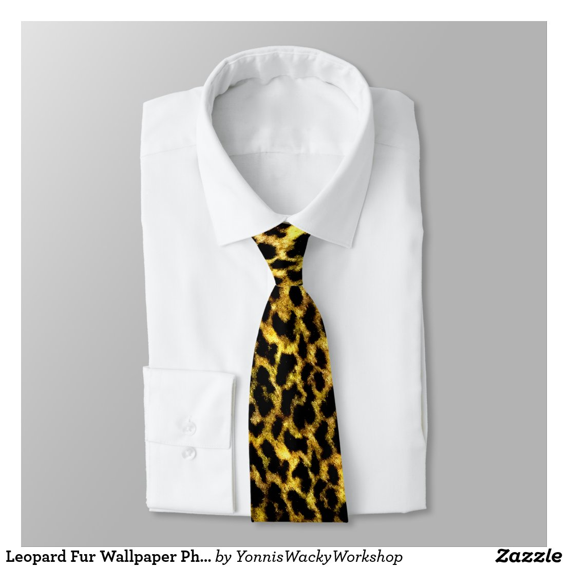Leopard Fur Wallpaper Photo Tie