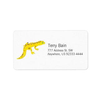 Leopard Gecko Label