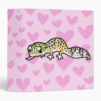 Leopard Gecko Love Binder