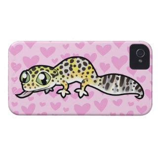 Leopard Gecko Love iPhone 4 Case-Mate Case