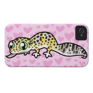 Leopard Gecko Love iPhone 4 Cover