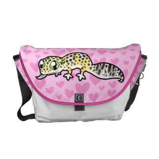 Leopard Gecko Love Commuter Bags