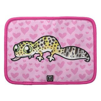 Leopard Gecko Love Folio Planners
