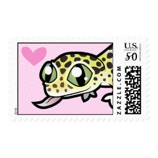 Leopard Gecko Love Postage
