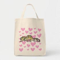 Leopard Gecko Love Tote Bag