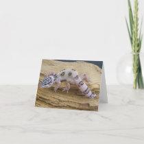 Leopard Gecko Note Card