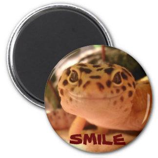 Leopard Gecko Smile Magnet