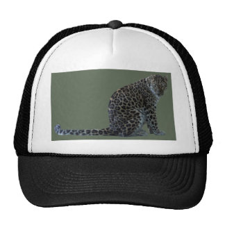 LEOPARD GLARE TRUCKER HAT
