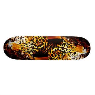 Leopard Gotcha Skateboard Deck