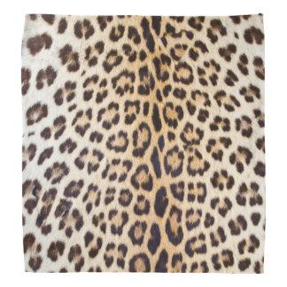 Leopard hair bandana