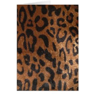 Leopard Happy Birthday Card