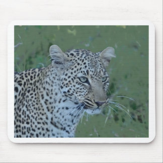 Leopard  Head Tee Mouse Pad