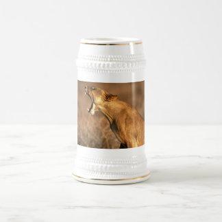 leopard,hungry coffee mug