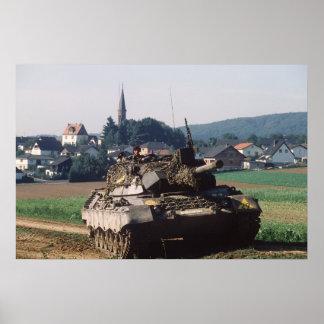 Leopard I Tank Poster