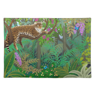 Leopard in the Jungle Placemat