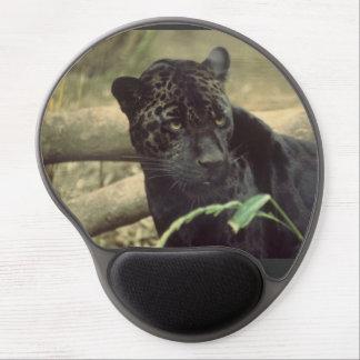 Leopard Jaguar Black Panther Cat Zoo Park Gel Mouse Pad