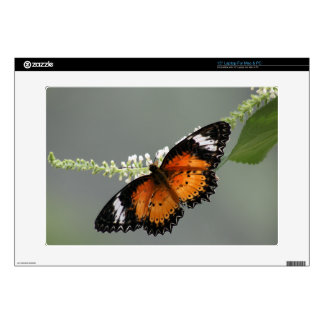 "Leopard Lacewing 15"" Laptop Decal"