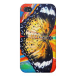 Leopard Lacewing Cover For iPhone 4