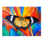 Leopard Lacewing Post Card