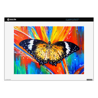 """Leopard Lacewing Skins For 15"""" Laptops"""