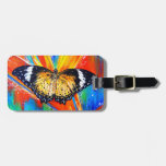 Leopard Lacewing Tags For Bags