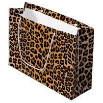 Leopard Large Gift Bag