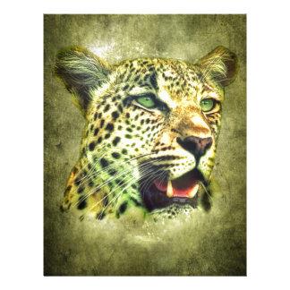 Leopard Custom Letterhead