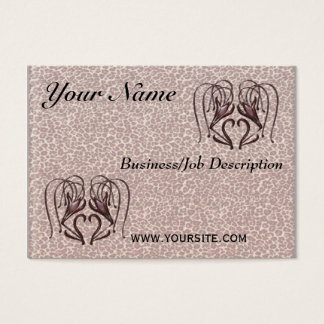 Leopard Lily Business Card