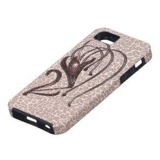 Leopard Lily iPhone SE/5/5s Case