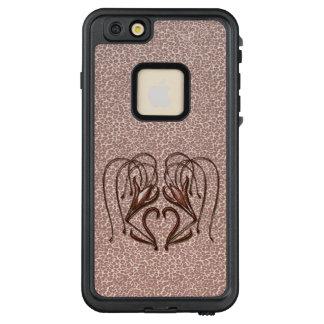 Leopard Lily LifeProof FRĒ iPhone 6/6s Plus Case