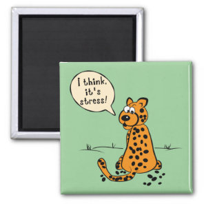 Leopard losing spots - I think it's stress Magnet