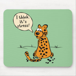 Leopard losing spots - I think it's stress Mouse Pad