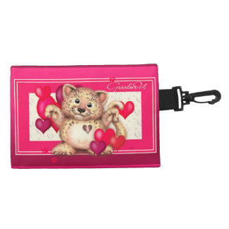 LEOPARD LOVE Clip On Accessory Accessories Bags