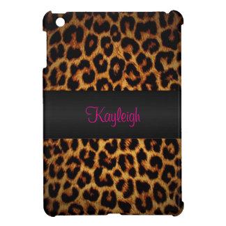 Leopard Love Personalized Cover For The iPad Mini