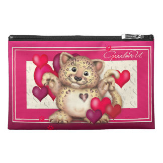 LEOPARD LOVE Travel Accessory Bag