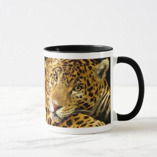 Leopard Macro Portrait Mug