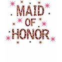 Leopard Maid of Honor shirt